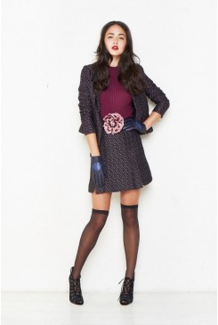 Live To Tell Tweed Skirt