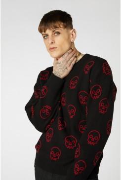 Punk Skull Knit