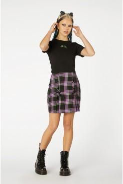 Bright Tartan Skirt