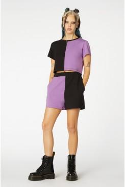 Colour Block Shorts