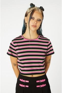Neon Stripe Tee