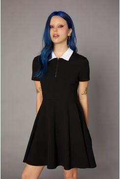 Goth Collar Dress