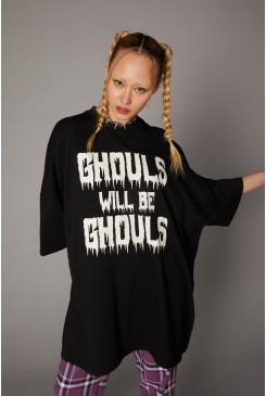 Ghouls Logo Print Tee