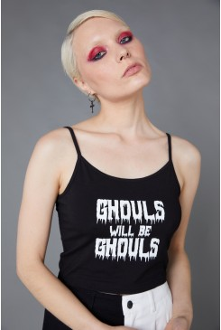Ghouls Logo Print Tank