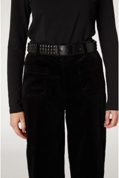 Black Stud Belt