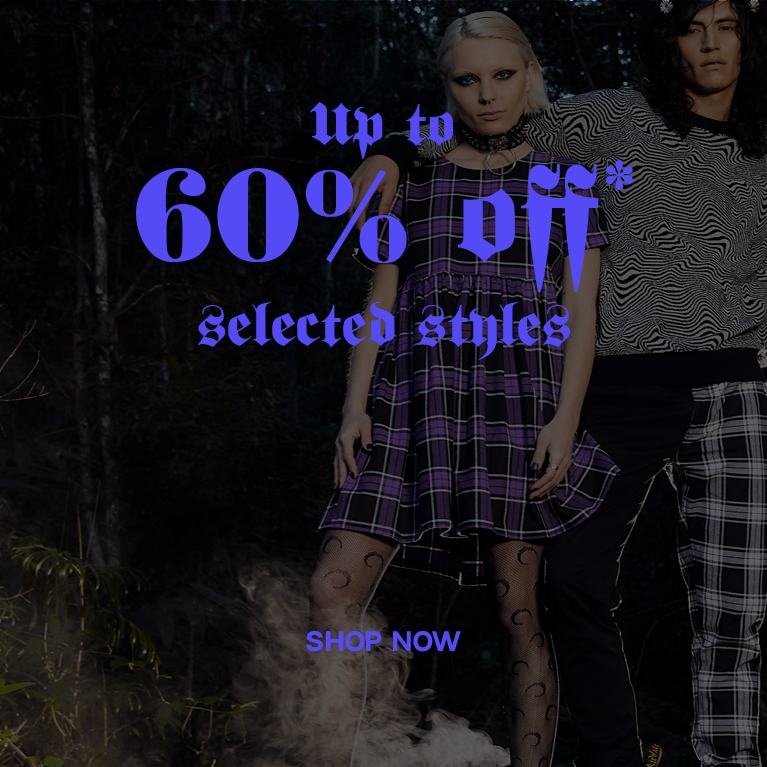 Up to 60% off selected styles